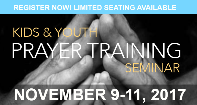 Kids Prayer Training Seminar 2017 – AD