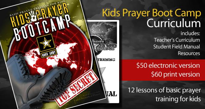 Kids Prayer Boot Camp Curriculum